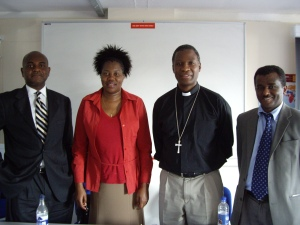 Speakers at Lambeth Conference session on TB-HIV