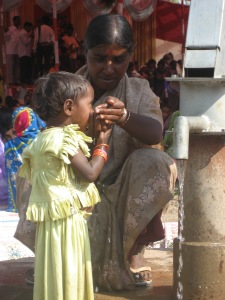 In India, millions of people are still without basic services like clean water and sanitation. (Photo: K Finch)
