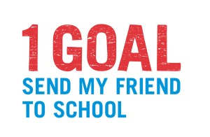 1GOAL Send my friend logo