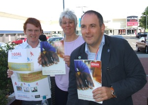 Members of the RESULTS Stort Valley group with Robert Halfon MP