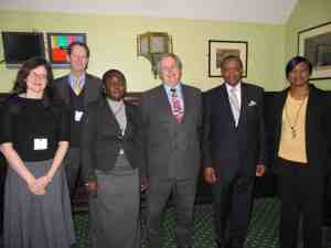 Speakers at the APPG event