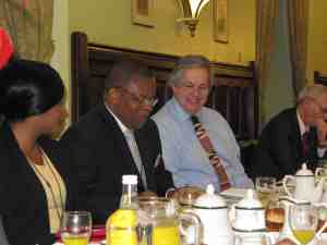 Thelma Ekiyor, Acting Nigeria High Commissioner and Tony Baldry MP
